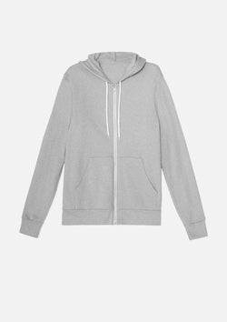 mens original zip athletic heather