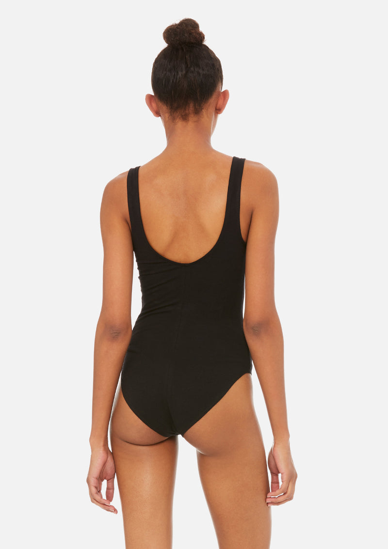 womens bodysuit black