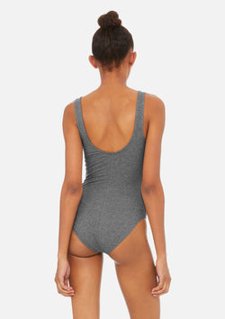 womens bodysuit deep heather