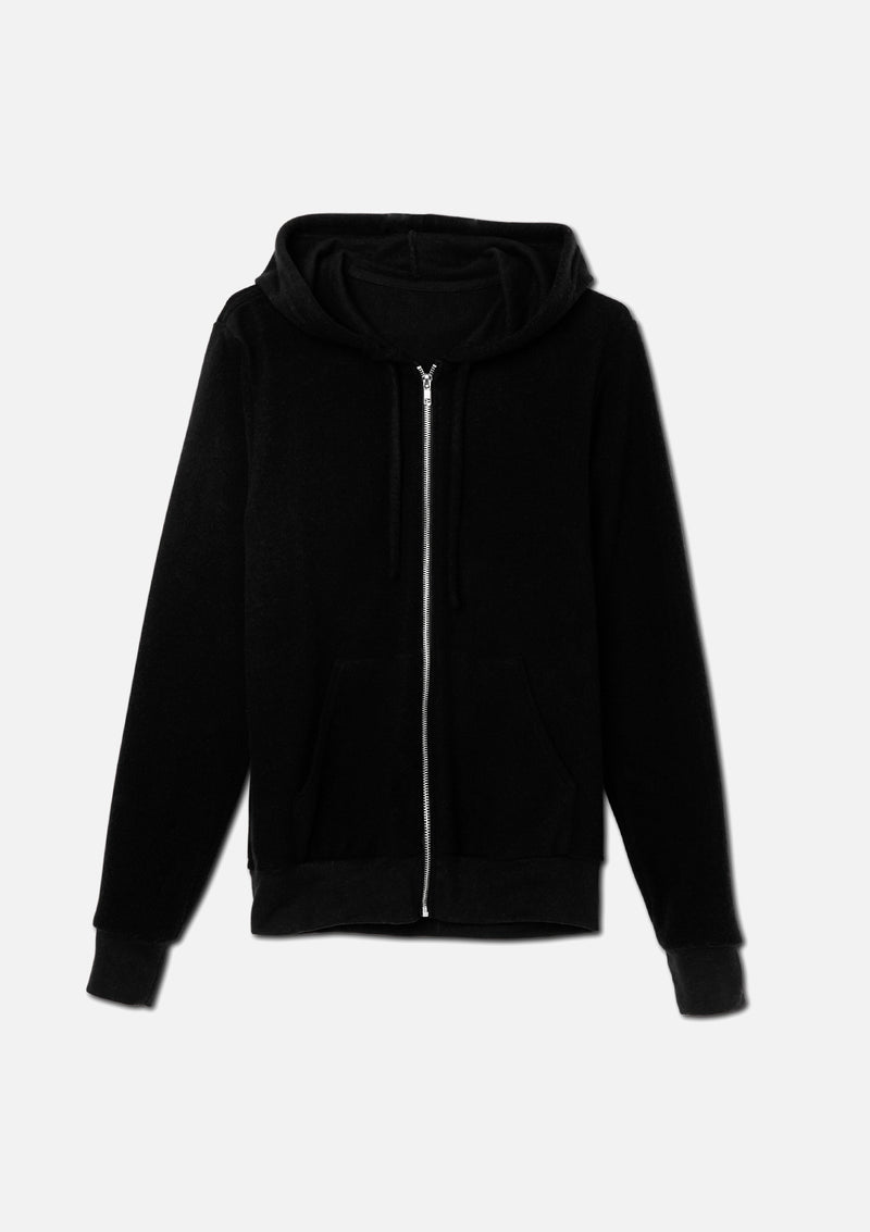 The Sueded Zip Up