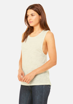 womens vintage slub scoop tank natural
