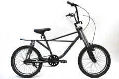 View Steel Grey with Black Wheels 20 Inch BMX in detail