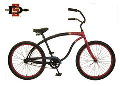View San Diego State Mens Beach Cruiser Bike in detail