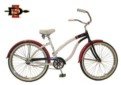View San Diego State Womens Beach Cruiser Bike in detail