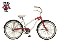 View University of Wisconsin Womens Beach Cruiser Bike in detail