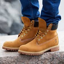 Timberland Men 6 Inch Premium Wheat Nubuck