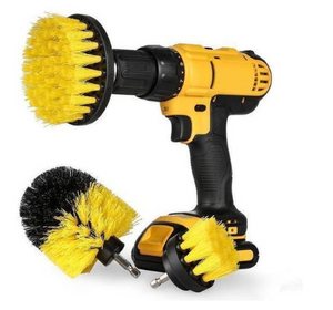 POWER SCRUBBER BRUSH SET (3PCS)