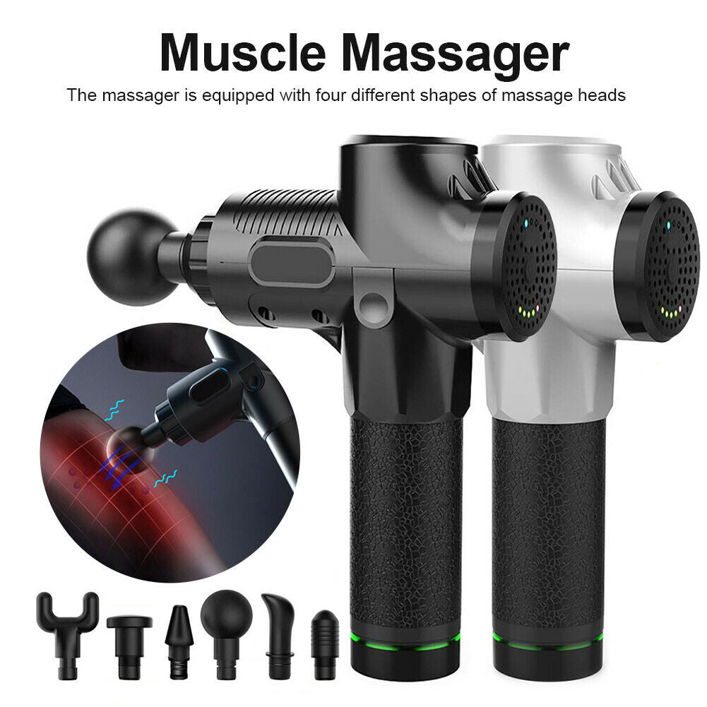 3 Speed Setting Body Deep Muscle Massager