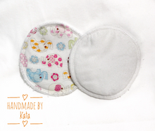 Load image into Gallery viewer, Overnight pads, Reusable nursing pads, Cotton breast pads, Absorbent pads, Organic hemp pads