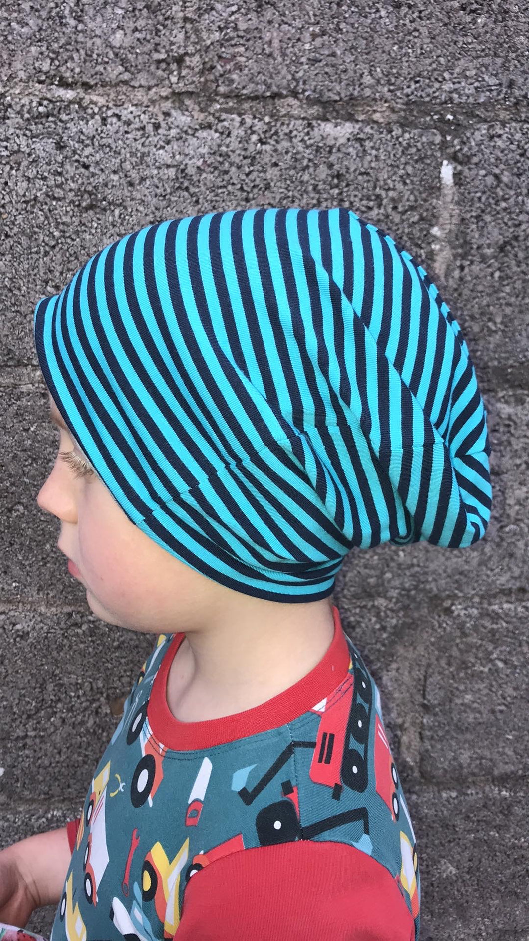 Slouchy hat, organic hat