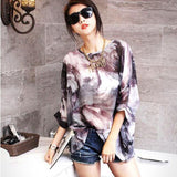 Vestidos Women Dress New Arrival 2018 Batwing Short Sleeve Summer Dress Plus Size Women Clothing 4XL 5XL 6XL Chiffon Dresses