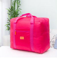 Large folding weekend travel duffel carry on luggage shoulder bag - various colors
