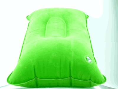 Ultralight Inflating Travel/Camping Pillows - Compressible, Compact, Inflatable