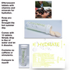 2 PACK Hydrate - Effervescent Electrolyte Tablets On-the-go Hydration Tablets