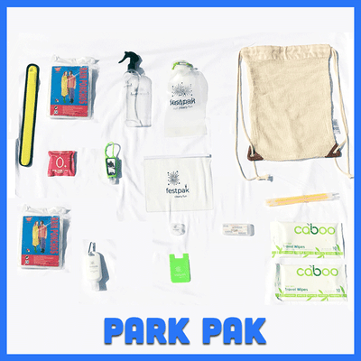 Park Pak | Backpack with 15 must-have products for amusement park trips!