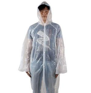 Outdoor Travel Raincoat / Plastic Disposable Rain Poncho / Sneeze Guard