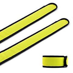 Yellow LED Light Up Band Slap Bracelets