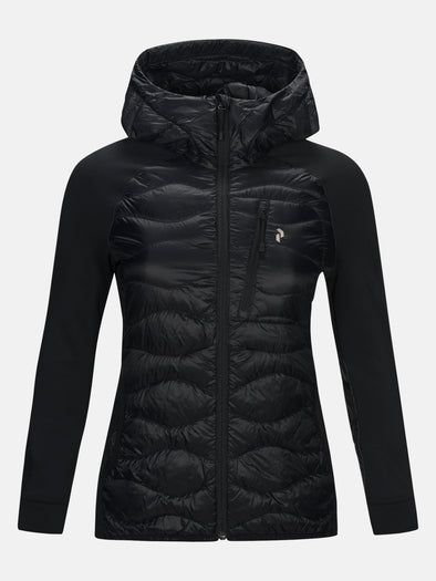 W Helium Hybrid Hooded Jacket