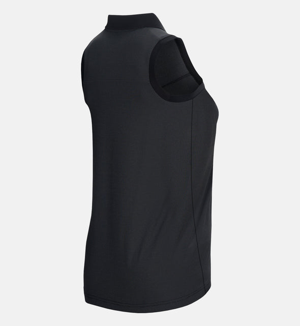 Women's Blocked Short-sleeved Golf Top