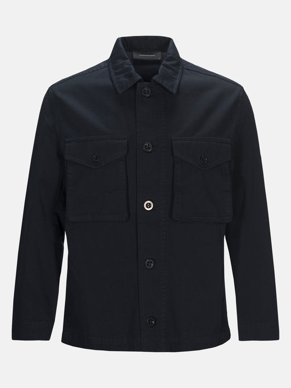 M Carlo Cotton Shirt Jacket