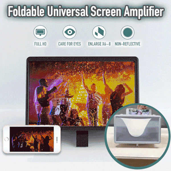 Portable 3D Screen Amplifier (Universal)