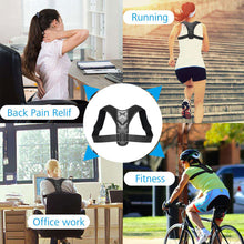 Load image into Gallery viewer, Posture Corrector For Men And Women (Adjustable Back Support)