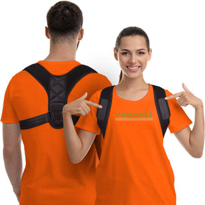 Posture Corrector For Men And Women (Adjustable Back Support)