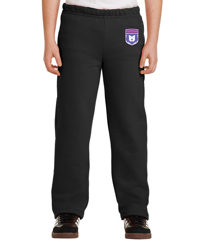 Courage League Youth Open-Bottom Sweatpant
