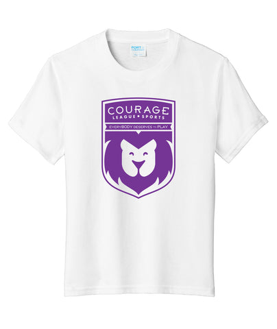 Courage League Youth Fan Favorite Tee