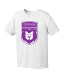 Courage League Youth Performance Tee