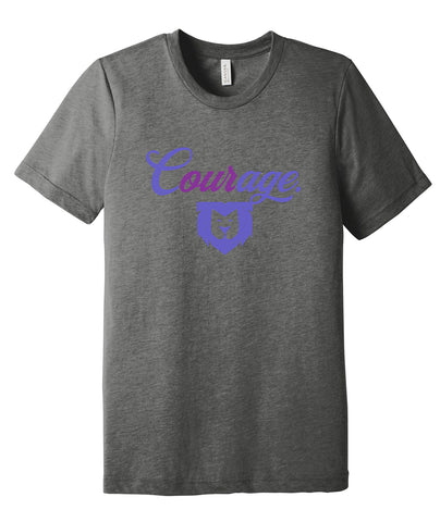 Our Courage Triblend Tee