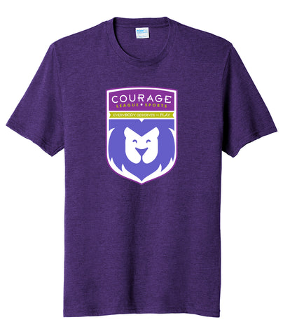 Courage League Shield Fan Favorite Tee