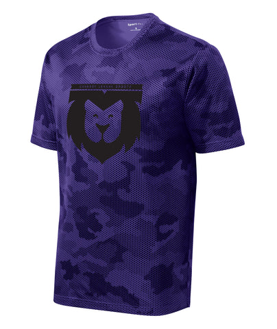 Lion Crest Camo Performance Tee