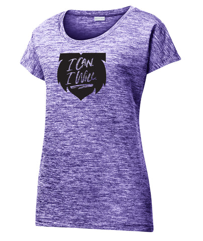 I Can. I Will. Charged Performance Womens Tee