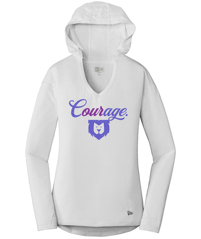 Our Courage New Era Hoodie Tee