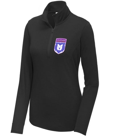 CLS Shield Womens Performance 1/4 Zip