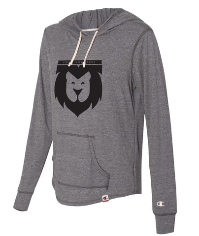 Lion Crest Womens Hooded Pullover