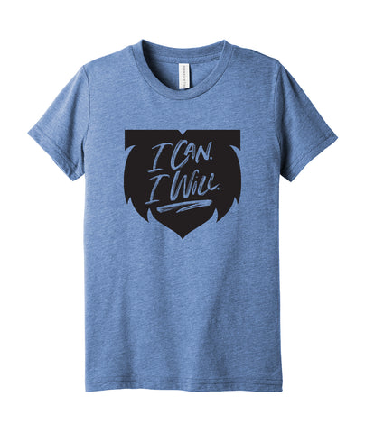 I Can. I Will. Youth Triblend Tee