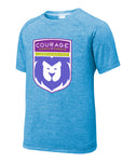 Courage League Shield Performance Youth Tee