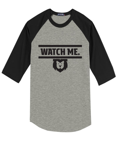 Watch Me Raglan Youth Tee