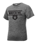 Watch Me Charged Youth Performance Tee