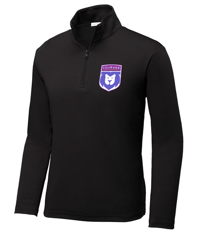 CLS Shield Long-Sleeve Youth 1/4 Zip