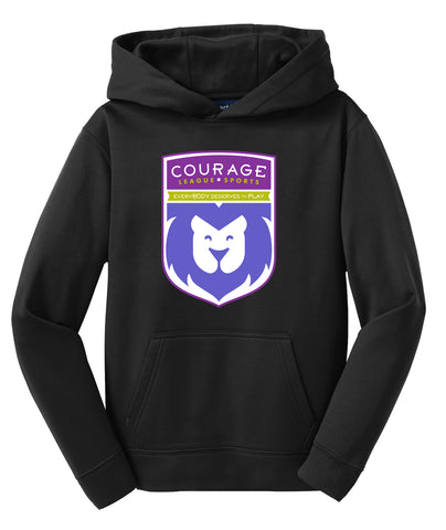 Courage League Shield Youth Sweatshirt