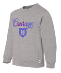 Our Courage Youth Crewneck Sweatshirt