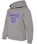 Our Courage Youth Hooded Sweatshirt