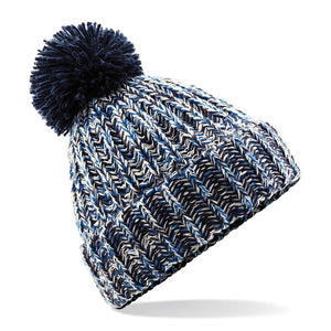 Adonis & Grace Twisted Pom Pom Winter Beanie Multiple Colours - BrandClearance