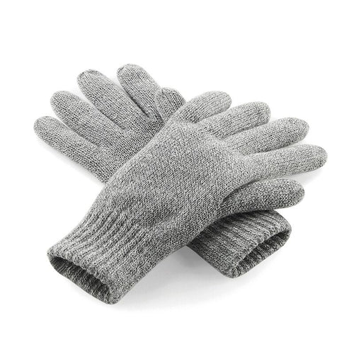 A & G Winter Thinsulate'TM' Gloves (3 Colours) Grey