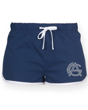 Load image into Gallery viewer, Adonis & Grace Retro Summer Shorts Navy