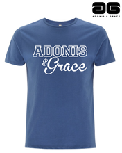 Load image into Gallery viewer, Adonis & Grace Crew Neck Blue