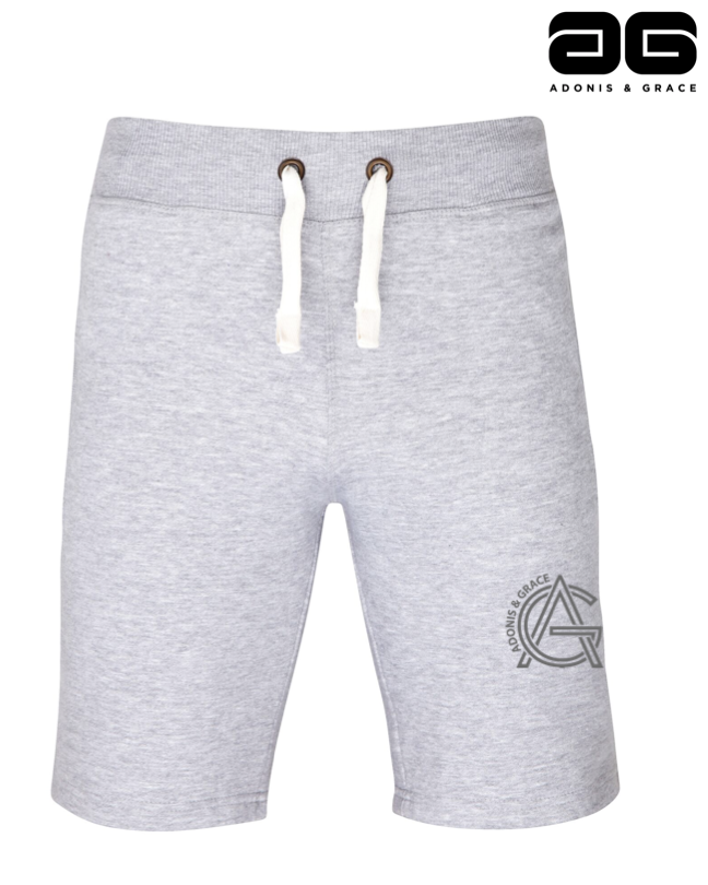 Adonis & Grace Campus Shorts Grey